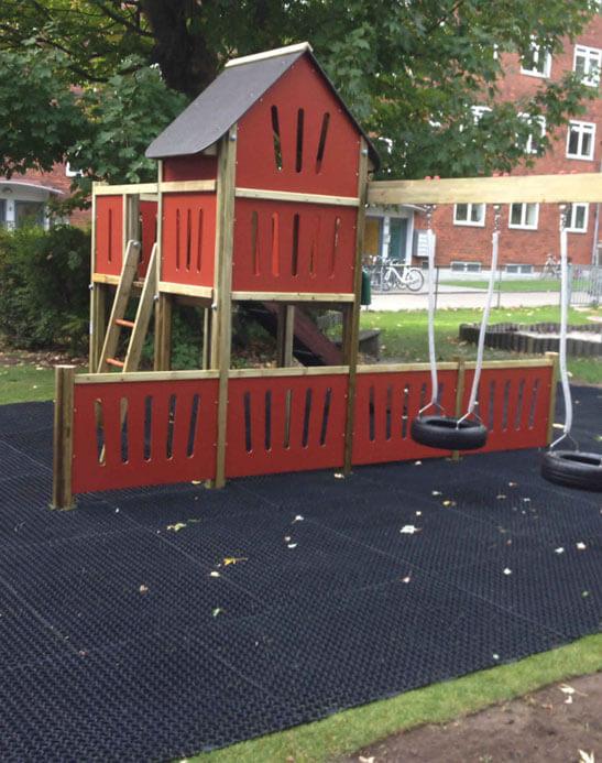 færdig legeplads