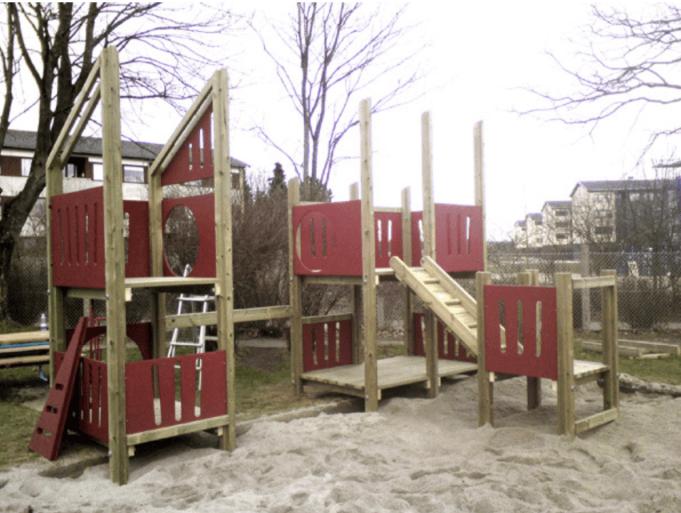 Legeplads opbygning
