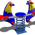 FS242 Dobbelt vippe - Fugle