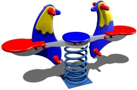 FS242 Dobbelt vippe – Fugle